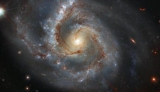 Hubble показал спиральную галактику в созвездии Пегаса
