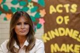 Меланія Трамп завітала на кордон з Мексикою