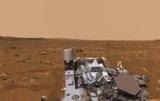 Опубликована панорама Марса со звуками планеты