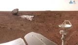 Китайский зонд показал, как садился с парашютом на Марс