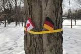 Канадці зустріли королівське подружжя Бельгії німецьким прапором і не зніяковіли